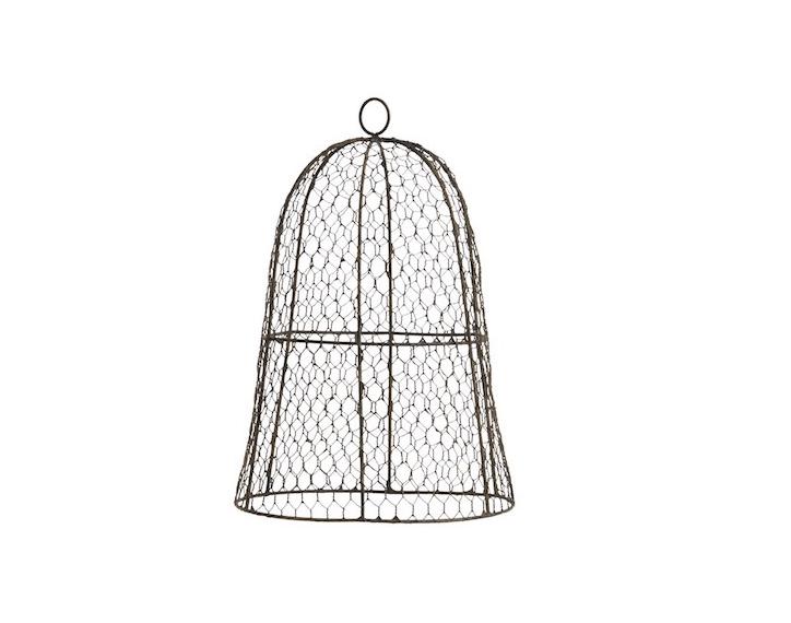 Garden Hacks: 10 Ideas for Wire Cloches - Gardenista