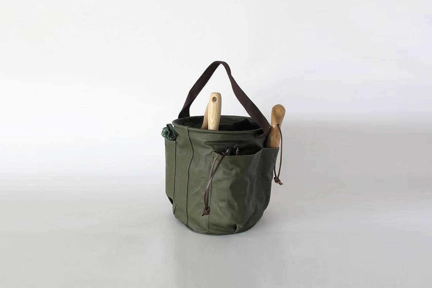 garden bag. A Collaboration Between New Zealand Home Goods Shop Everyday Needs And Bag Designers Deadly Ponies, Garden