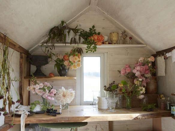 stylist design house plant seeds. The Botanical Life  At Home with London Stylist Yasuyo Harvey Gardenista