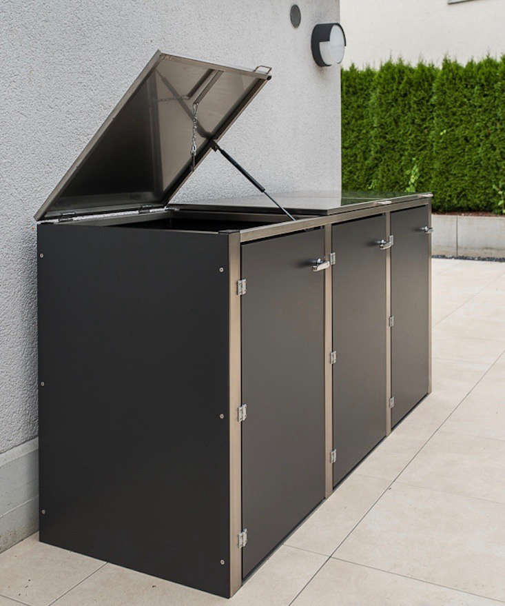 Bon A Dustbinbox From Augsburg, Germany Based Design@gartenhaus Conceals Trash  Cans In A
