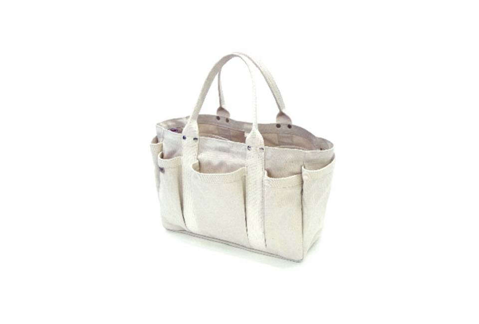 The Japan Made Matsunoya Heavy Canvas Tool Tote In Natural Canvas Is U20ac275 (