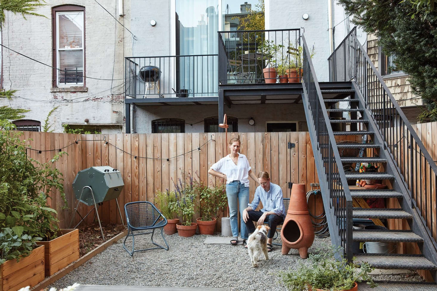 Sustainable Solutions A Modern Garden For A Historic