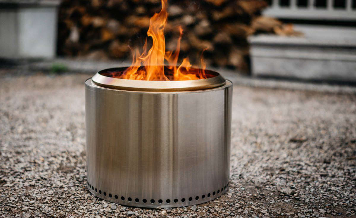 10 Easy Pieces Smokeless Fire Pits Gardenista