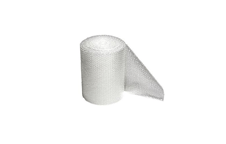 A 30-foot-long roll ofAir Bubble Cushion Wrap is $7.99 at Amazon.