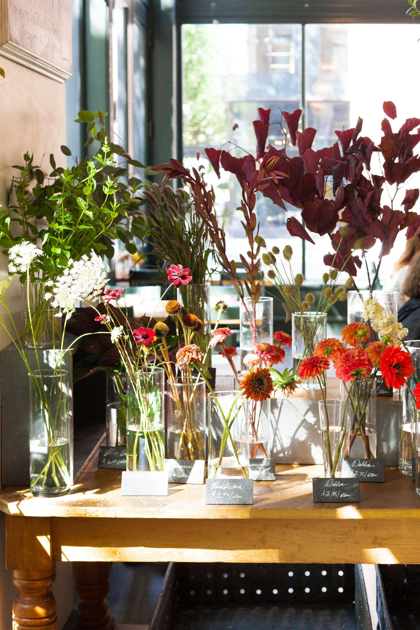 The Flower Shop at Seattles London Plane Gardenista