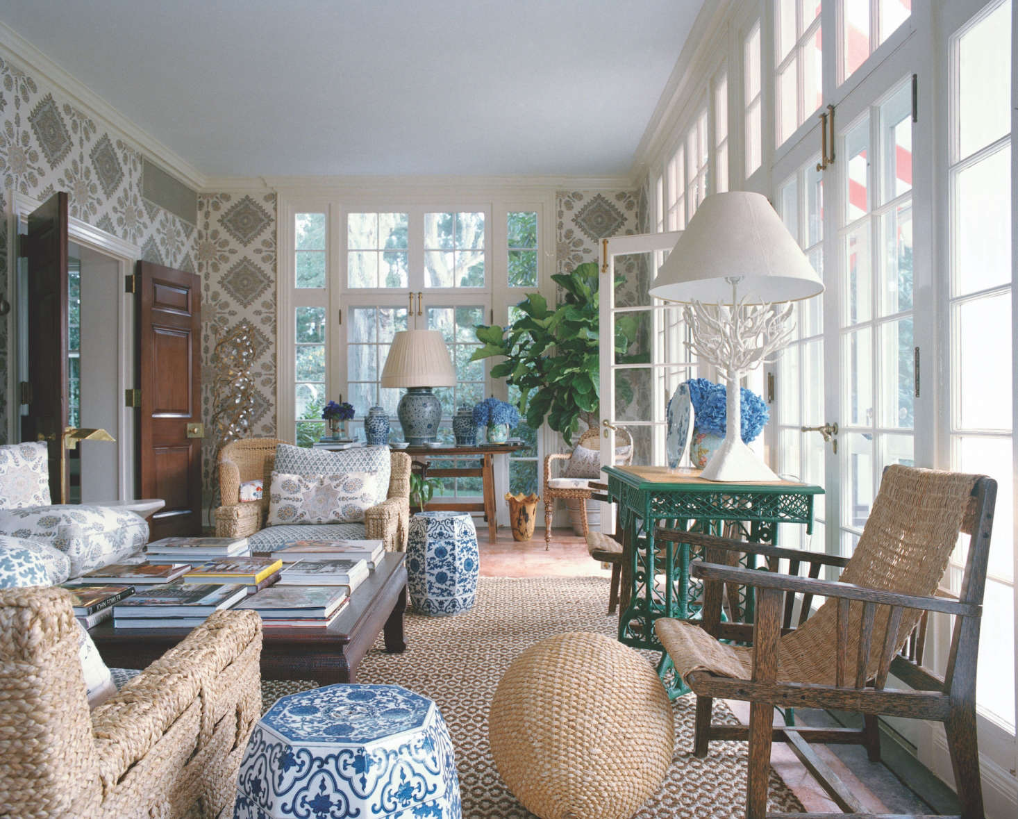 More Is More Seems To Be The Mantra For Designer Tory Burch, At Home On