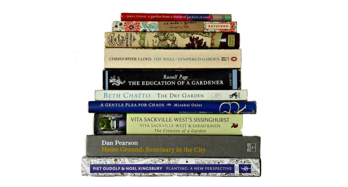 The  Books Every Gardener Should Read. Photograph by Clare Coulson.