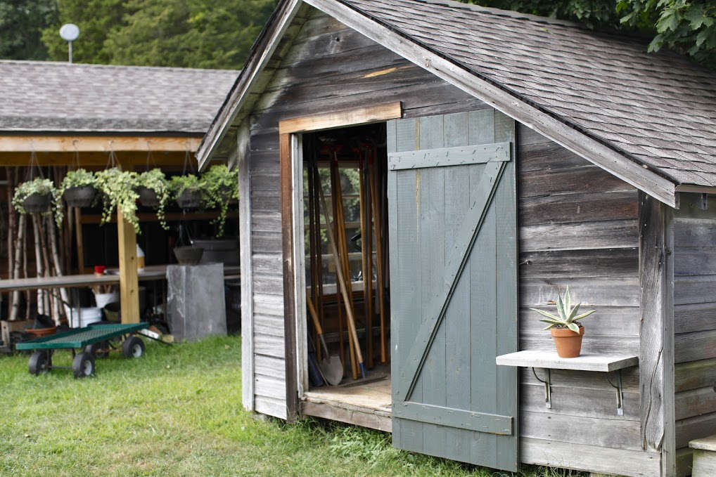 Garden Potting Shed 10 ideas to organize the perfect potting shed gardenista photograph by christine chitnis for gardenista workwithnaturefo