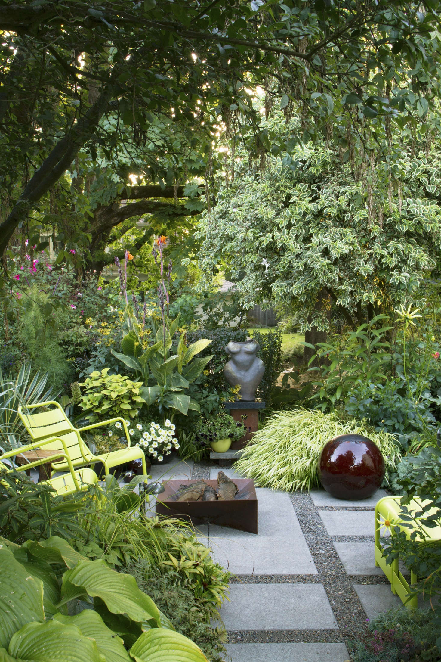 Shade Garden Ideas Front Yards House