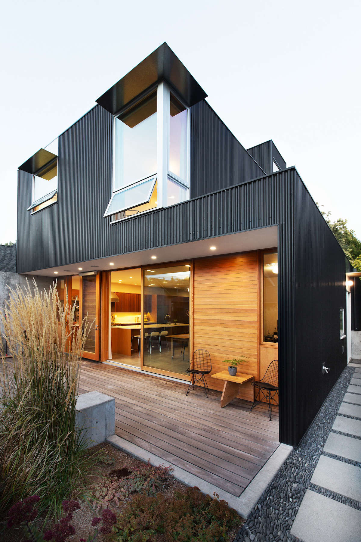 In Seattle An Urban Landscape Designed For Privacy And