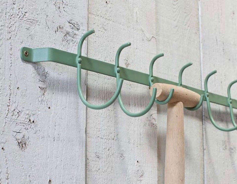 tool yard design garden mounted peg wall hanger mounts home ideas organizer rack