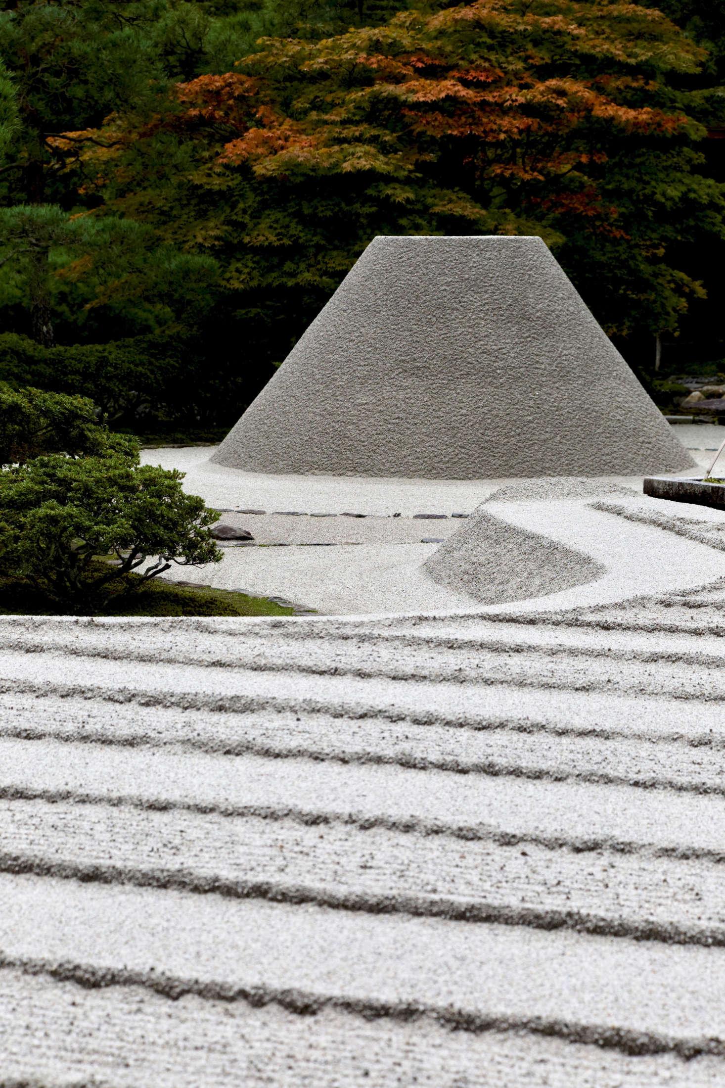 At The Ginkaku Ji Zen Garden In Kyoto. Photograph By Kimon Berlin Via Flickr