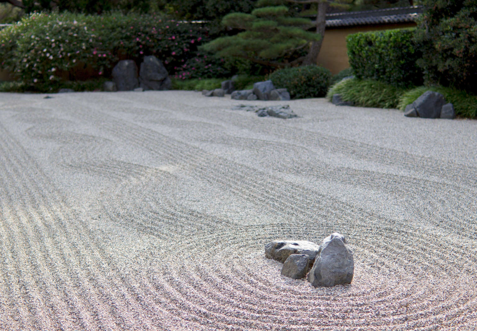 Photos Of Japanese Dry Landscape Gardens Near Zen Temples Always Lower My  Blood Pressure, With Their Peaceful Arrangements Of Rocks, Gravel, Moss, ...
