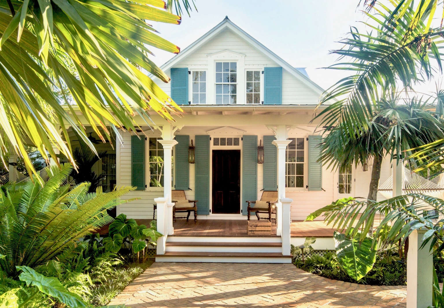 three weeks before last years hurricane key westbased landscape architect craig reynolds completed a new tropical garden for one of the best known - Garden House Key West