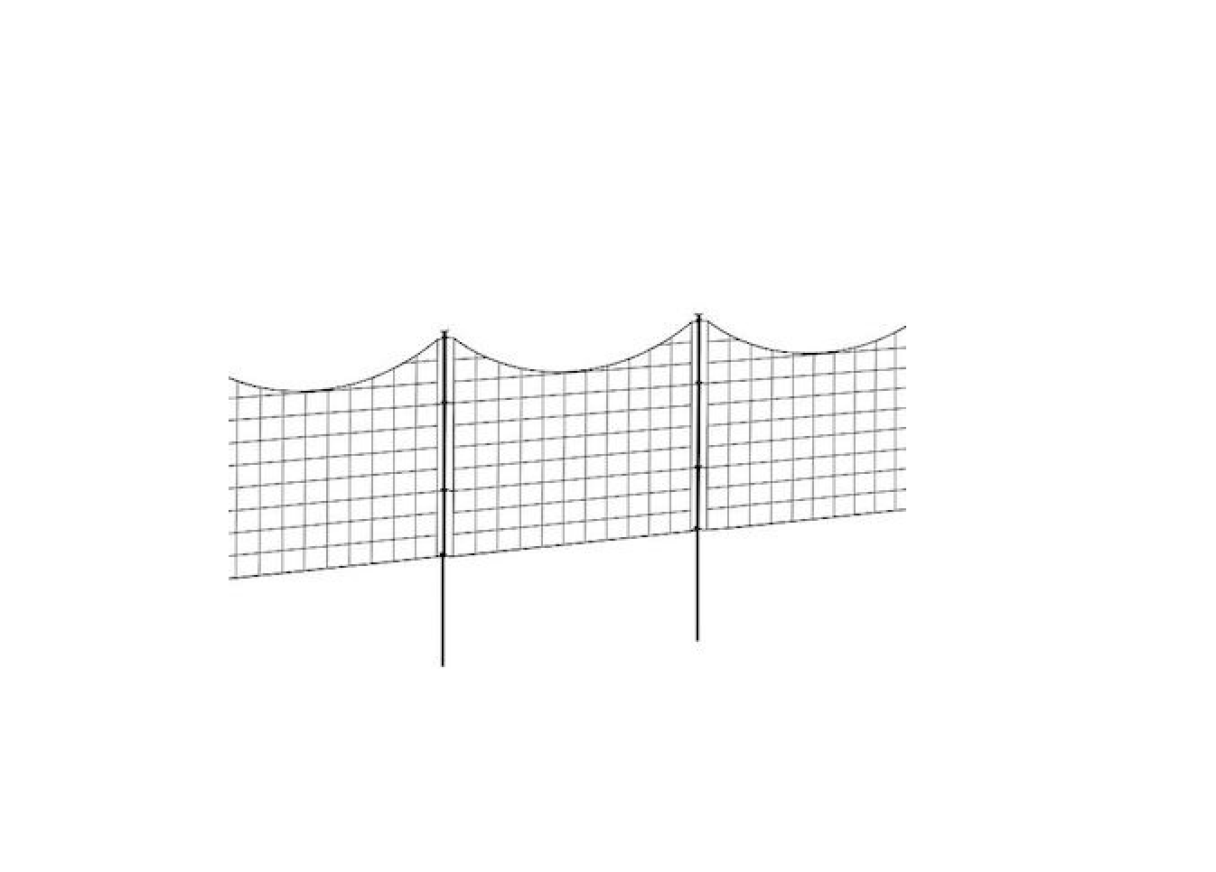 10 Easy Pieces: Black Wire Fencing - Gardenista