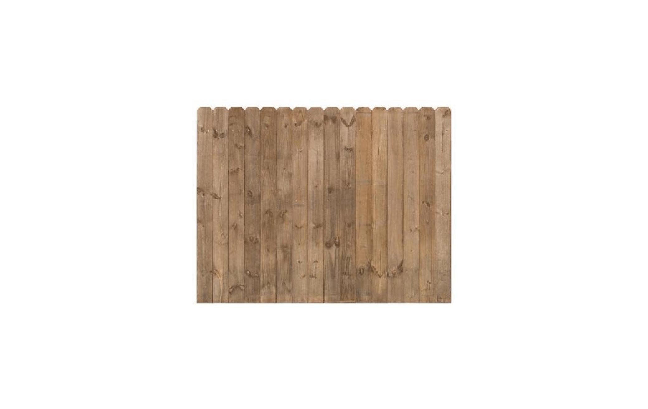 CedarTone Premium Dog-Eared Fence Panel