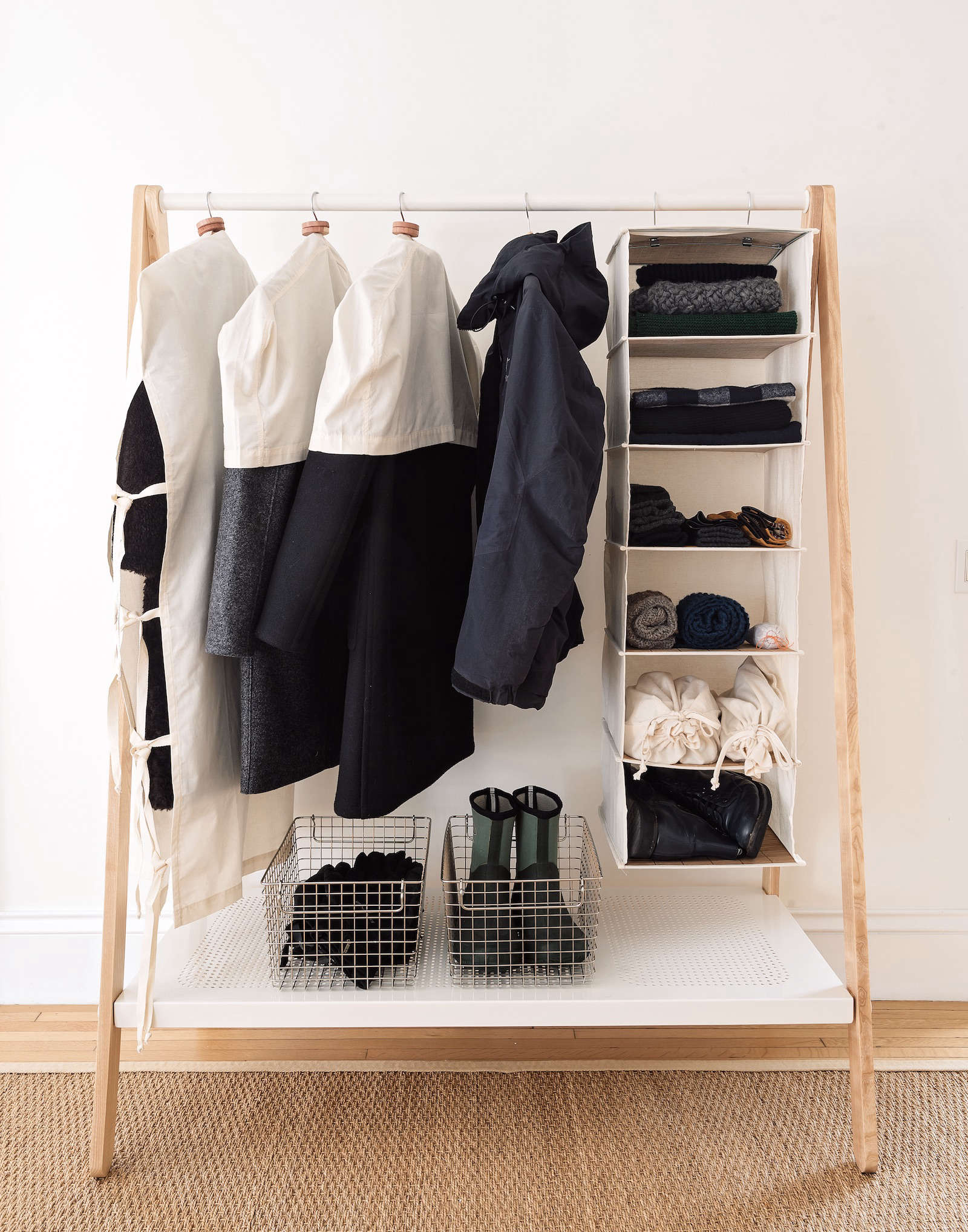 Small Closet Organization Storage