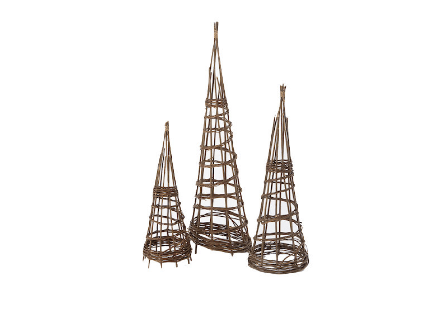 A Willow Garden Obelisk Is Available In Three Heights (from 28 To 47 Inches)
