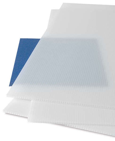 Clear Corrugated Polycarbonate Panel