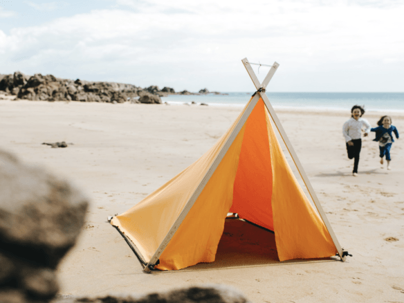 №2 Isle of Re - Small Canvas Tent