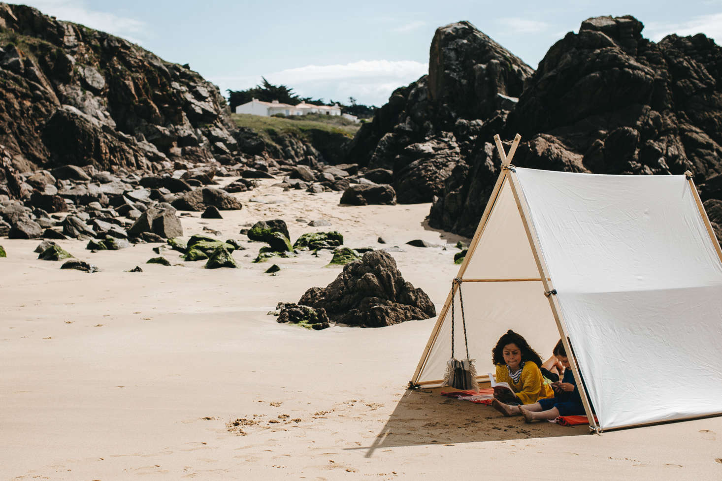 Object of Desire: La Tente Islaise Canvas Beach Tents from
