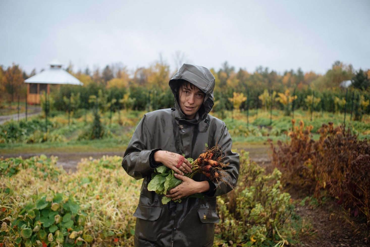 Justine, a former employee ofLa Ferme des Quatre-Temps, has since started her own farm. Both of Fortier&#8