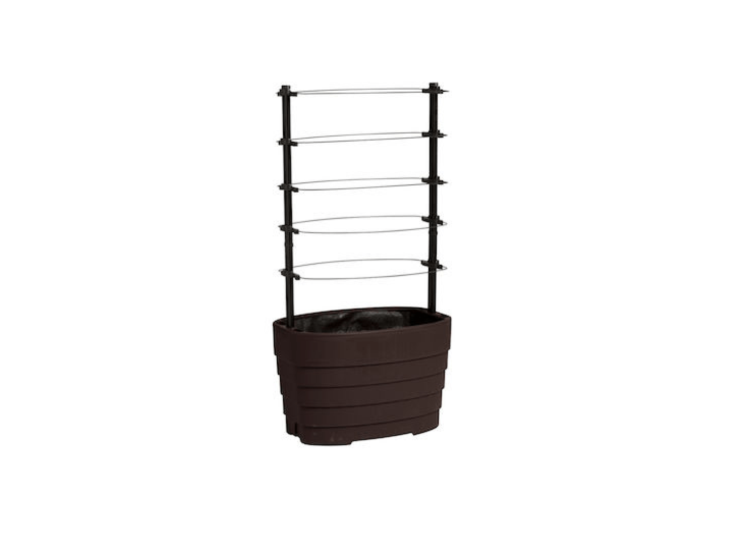 Sized to fit two bush-variety tomatoes, aClassic Tomato Planter has vented sides and is $src=