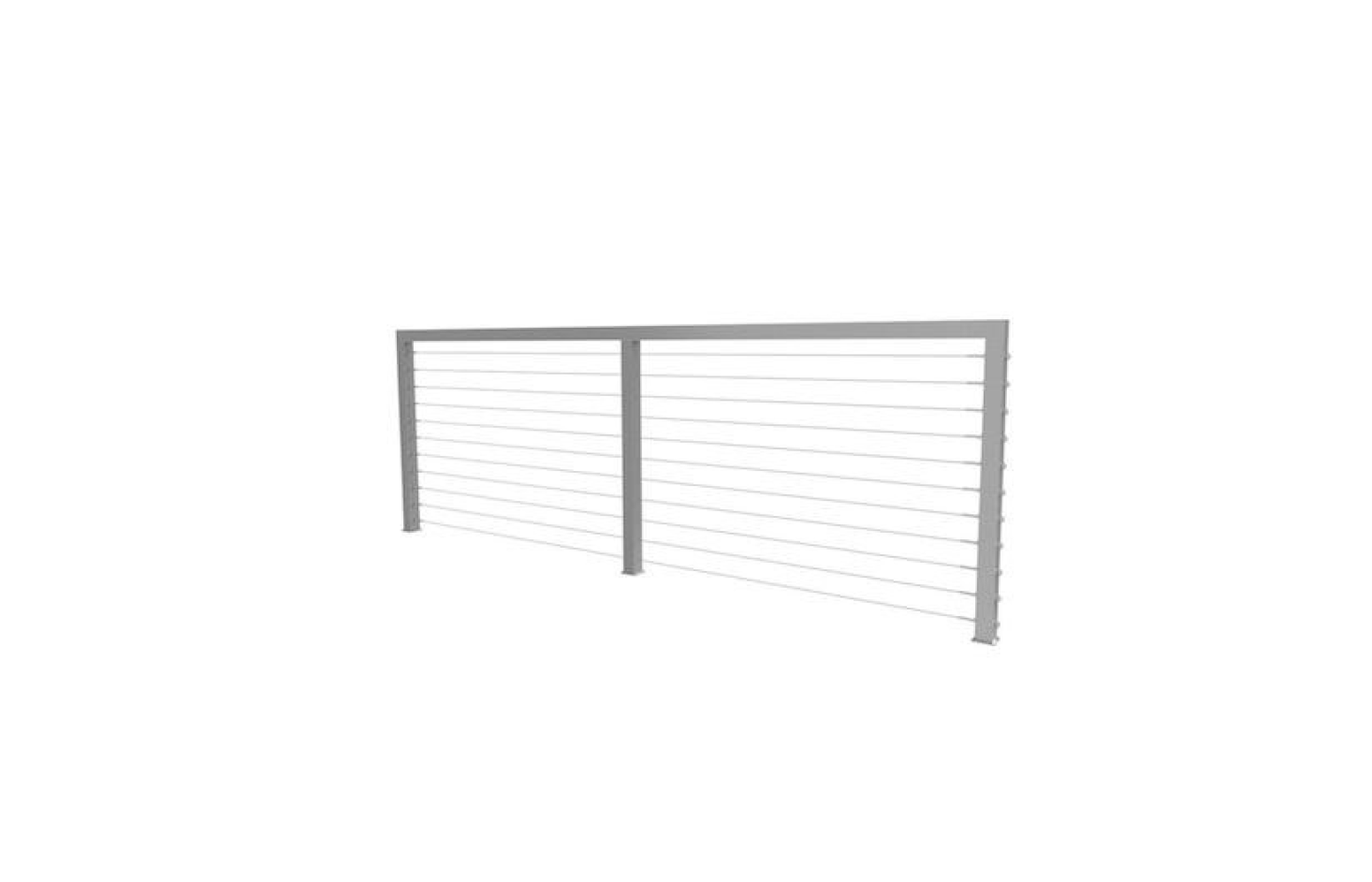 10 Easy Pieces: Cable Railing Kits - Gardenista