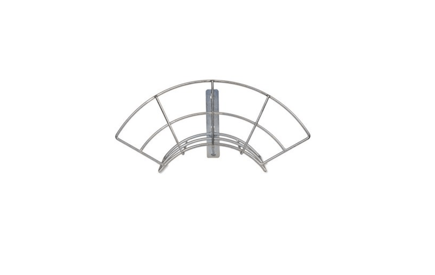 Designed to be mounted on a wall, aHose Hanger made of galvanized steel measures 22 centimeters by 46 centimeters (and is 17 centimeters deep);£20 from Garden Trading.