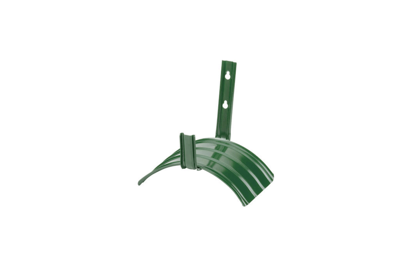 A Gilmour 8115 Steel Hose Hanger can accommodate a 100-foot hose; $6.49 from Sears.