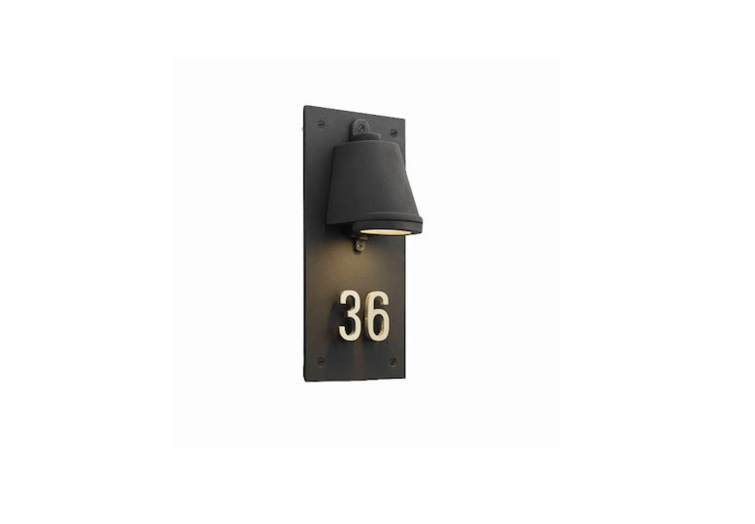 10 easy pieces lighted house numbers gardenista