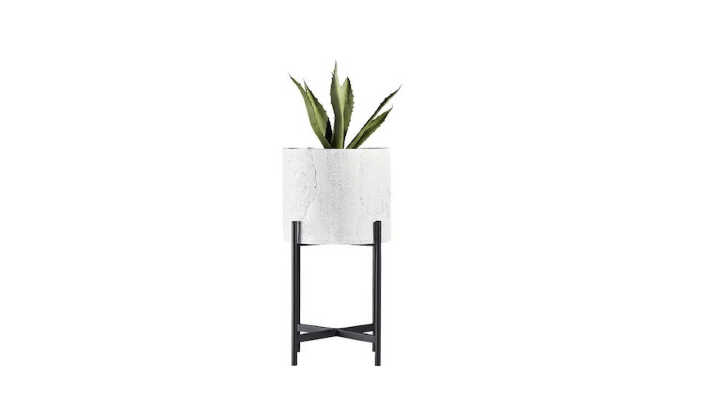 Midcentury Modern Cylinder Planters 10 Stylish Pots For