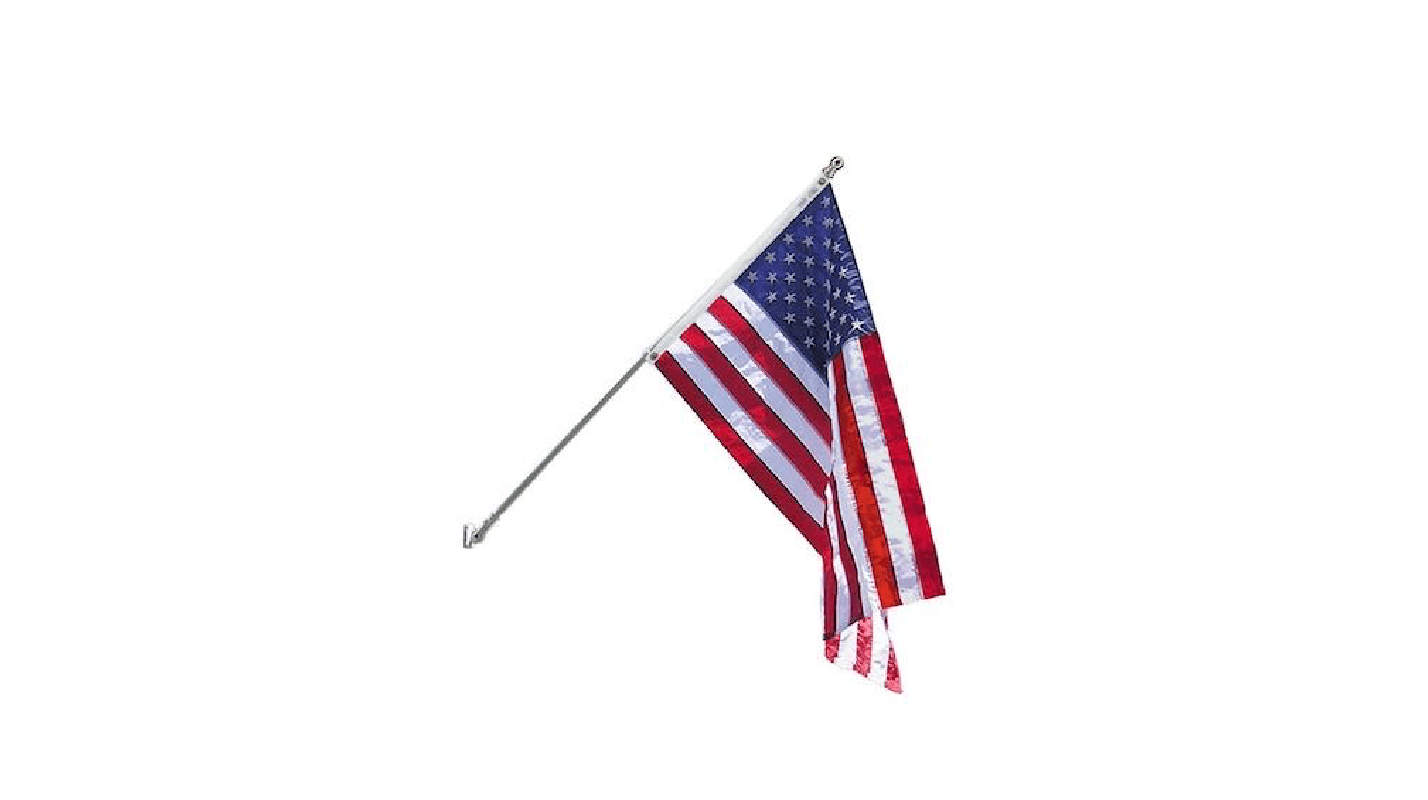 For Valley Forge Flag 1-Inch Diameter Rotating Mounting Rings 2-Piece CA