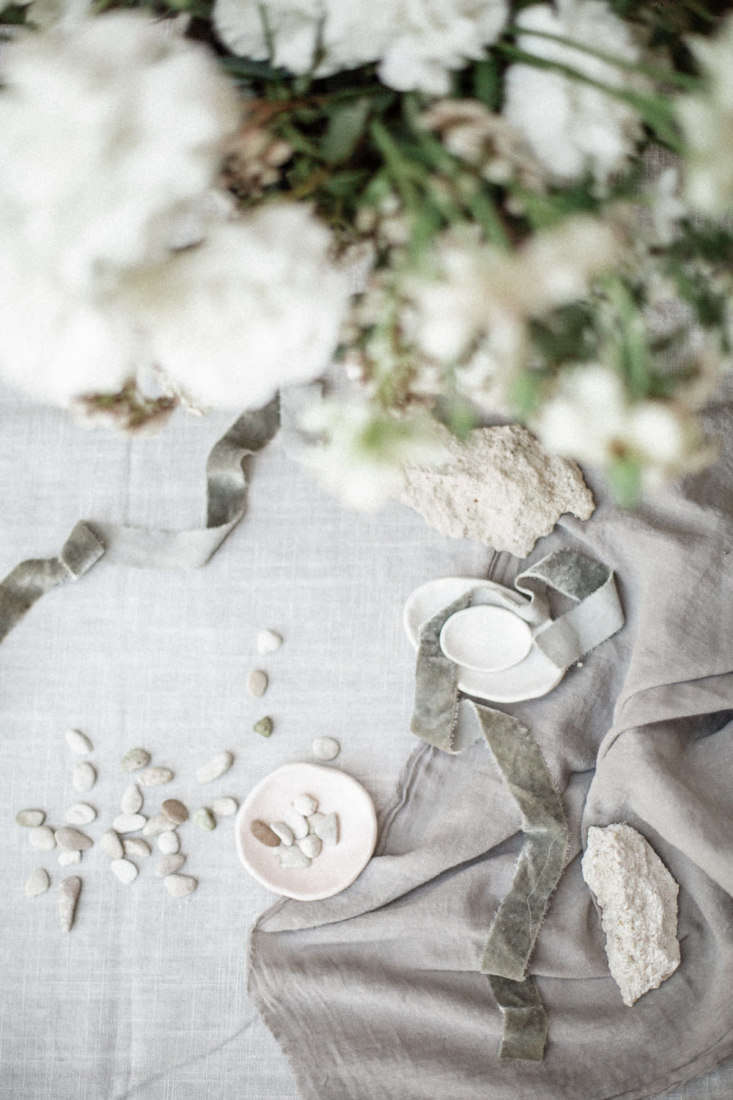 Flower Arranging Workshop in France by Floresie and Notary Ceramics, Photo by Chikae Howland