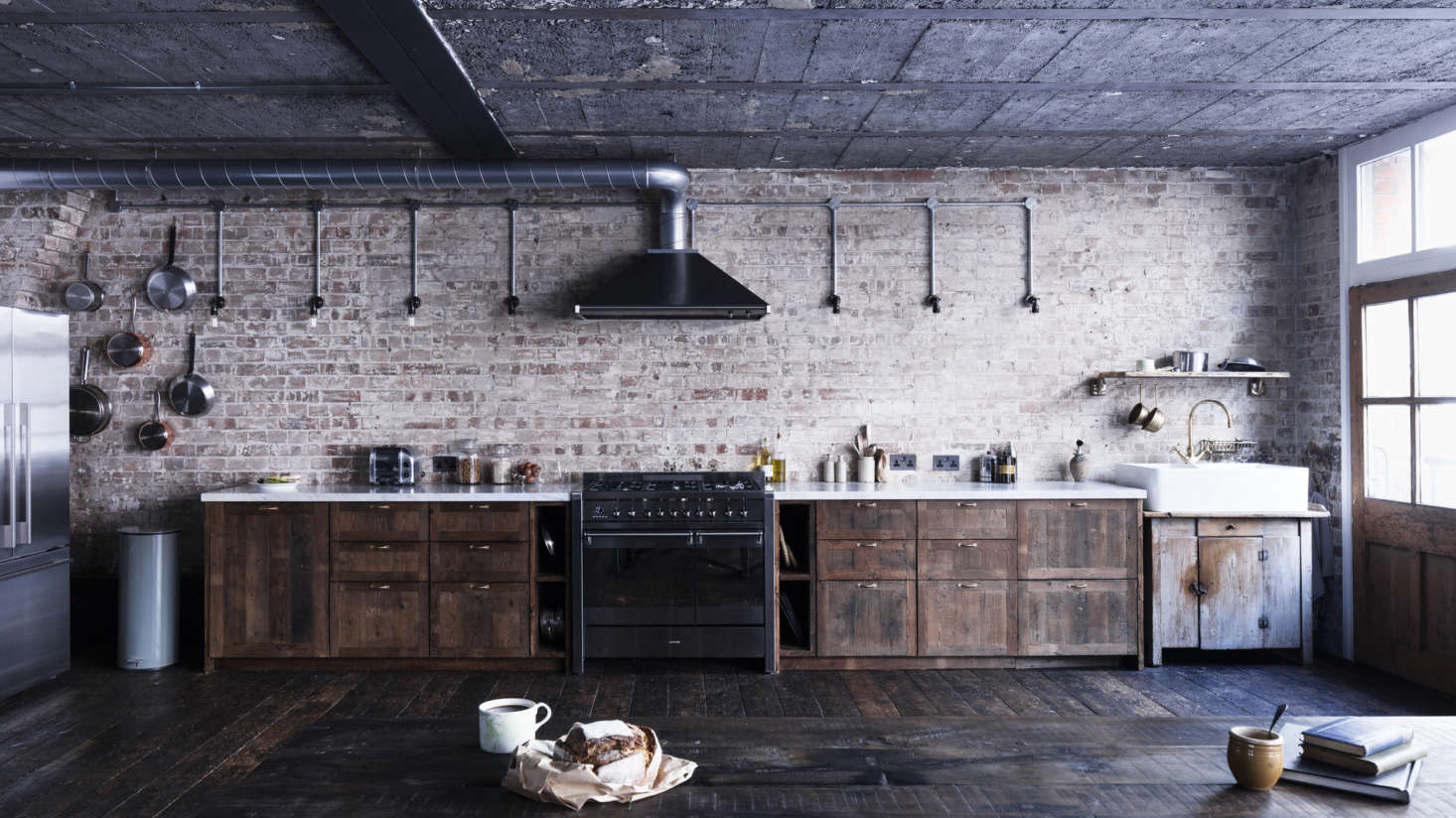 interesting brick loft interior design | Trending on Remodelista: 5 Design Ideas to Steal from ...