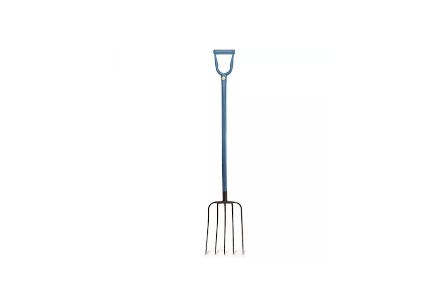 An all-steel Professional Mulching Fork with five tines is made in the US; $99.95 from Garrett Wade.