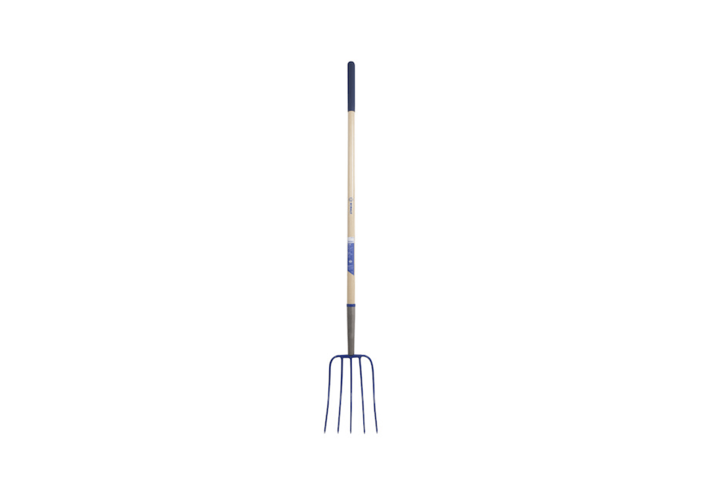 A 54-inch Wood-Handle Steel Manure Fork has a forged steel head and is $45.98 from Lowe&#8
