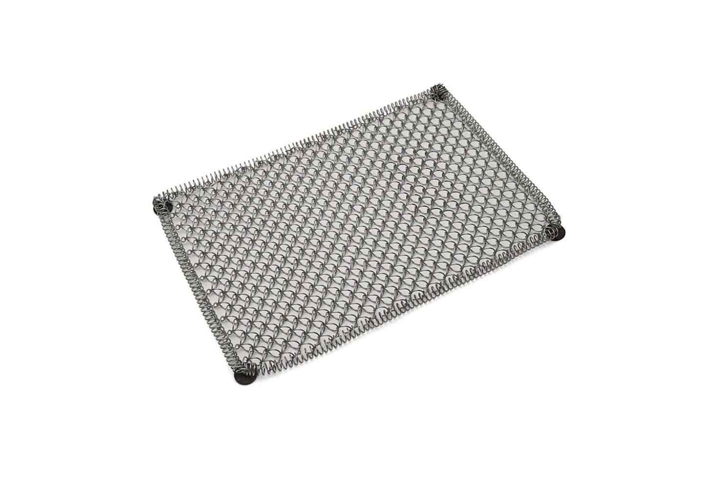 The Galvanized Coil-Steel Mud Mat starts at $.95 at Garret Wade.