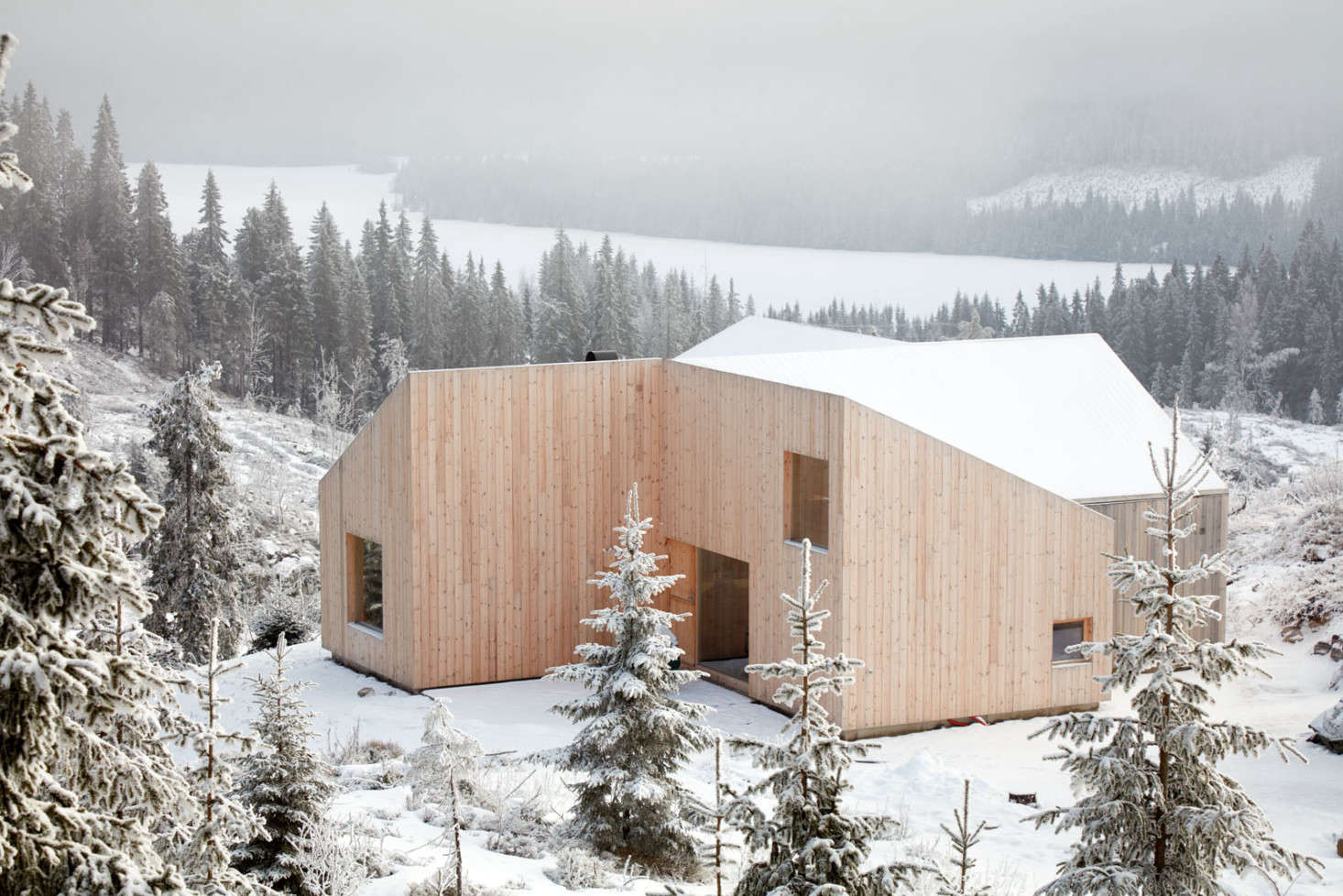 No Place Like 'Hytte': A Tiny Cabin In The Norwegian Woods