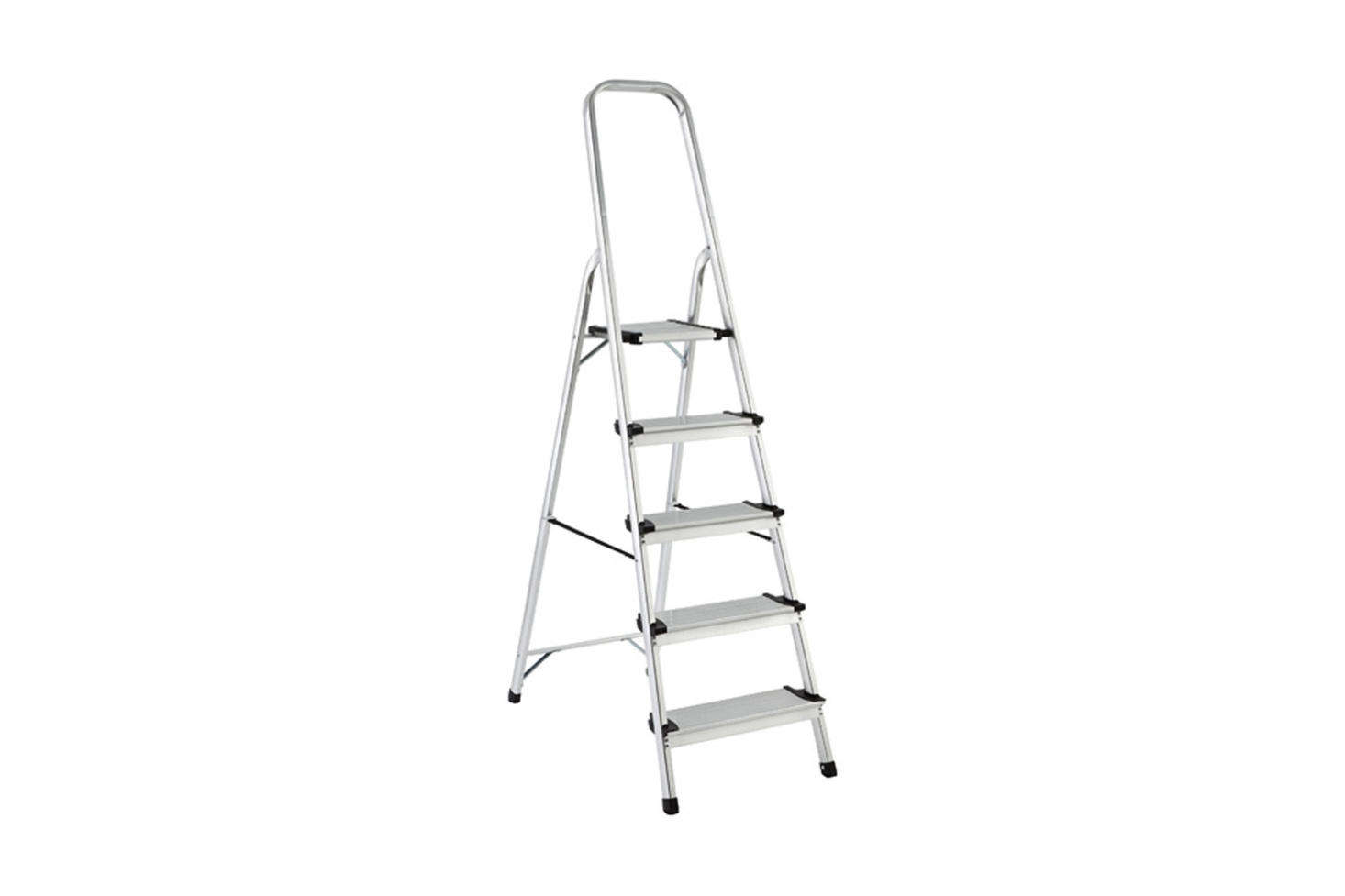The Polder 5-Step Aluminum Folding Ladder is $99.99 at The Container Store.