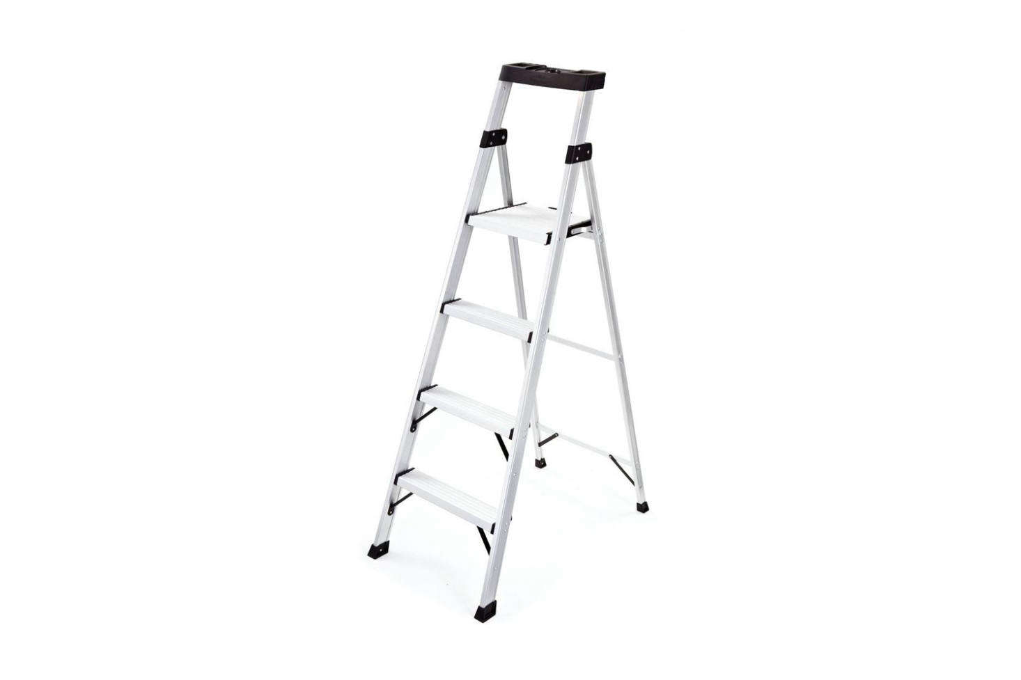 The Rubbermaid 4-Step Aluminum Step Stool is $79.99 at The Home Depot.