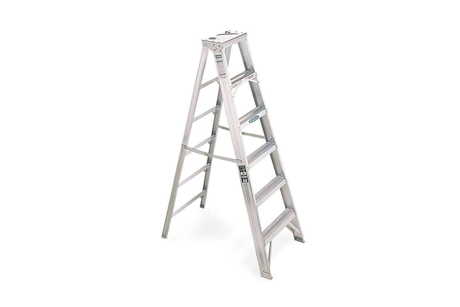 above: The straightforward 6-Foot Aluminum Step Ladder from Werner for $6.99 on Amazon. Also available are 8-, -, and src=