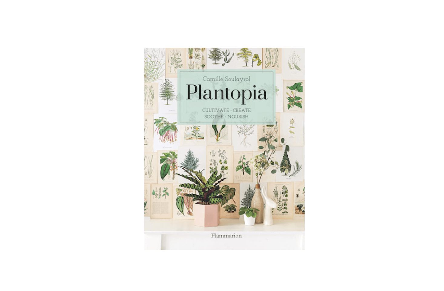 There are plenty of vogue-ish ideas here – how to make wreaths, terrariums, delicate himmeli, and chunky macramé planters, as well as a functional section on plant-based beauty products, including lip balms, body oils, and infusions which you can make at home too.