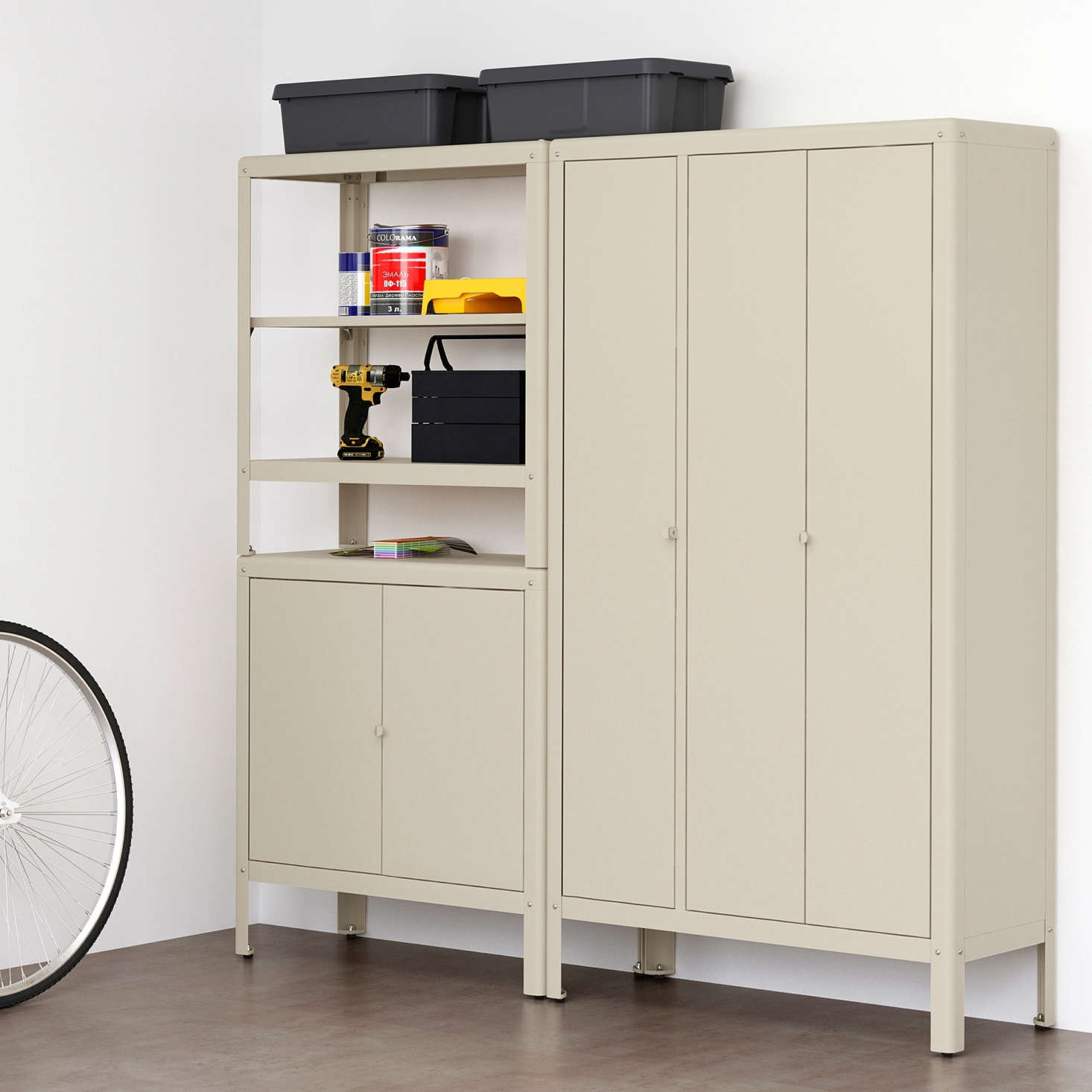 10 Easy Pieces: Garage Storage Cabinet Systems
