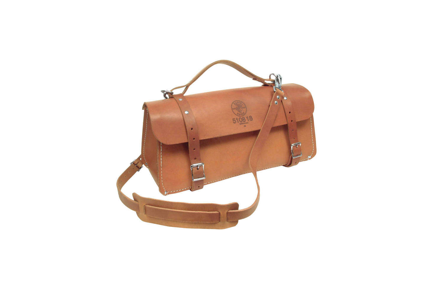 The Klein Tools 18-Inch Deluxe Leather Bag is the bag to contain all your gardening gear from the time-honored workwear brand Klein. It's $239.70 on Amazon Prime.