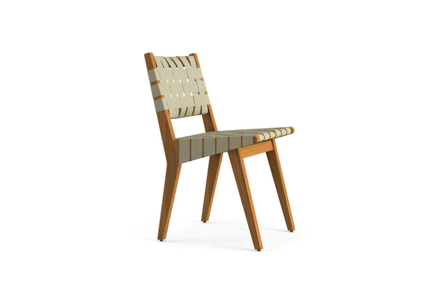 Jens Risomu0027s Outdoor Side Chair Is Part Of His Original 1941 Collection For  Knoll Made Of