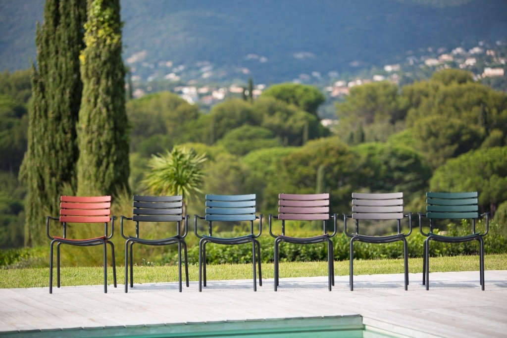 Remarkable Patio Furniture Colorful Outdoor Armchairs From A Danish Download Free Architecture Designs Grimeyleaguecom