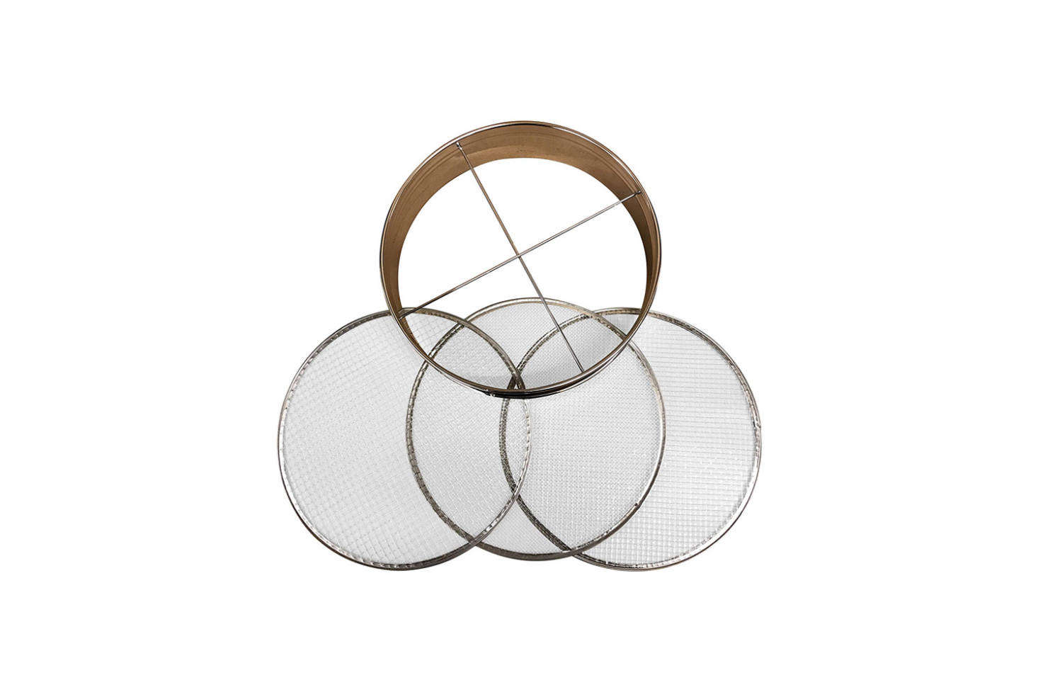 The 4-Piece Soil Sieve Set made with a stainless steel frame is $34.95 on Amazon Prime. Read more about the tool in our postGarden Riddle: What's Round, and Sifts Twigs?