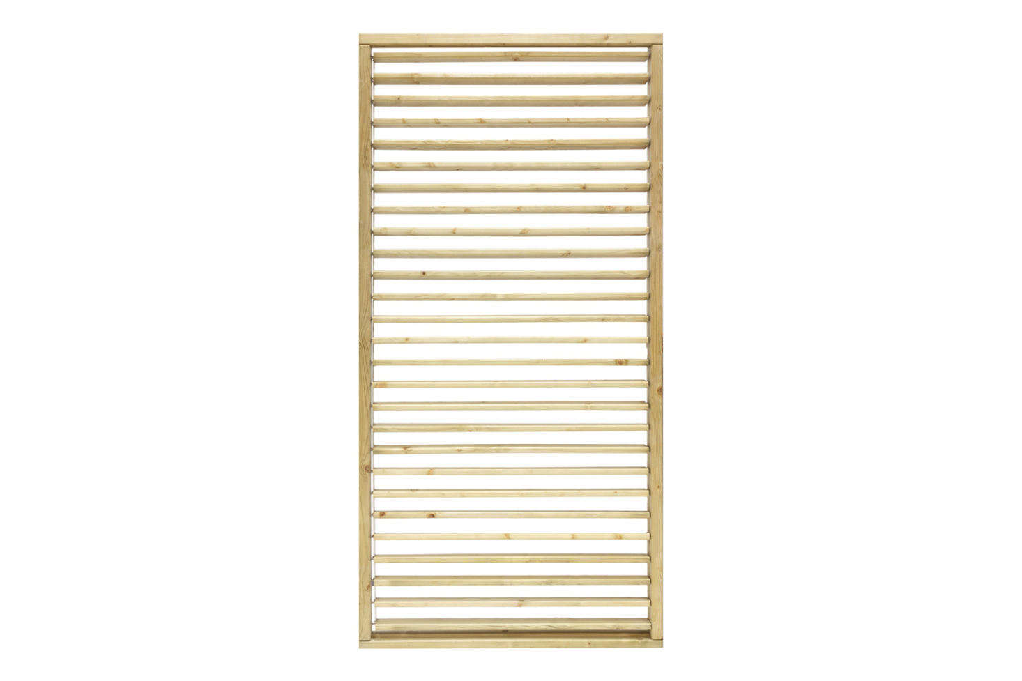 The Grange Adjustable Slat Garden Screen is a Venetian effect slatted screen with slats that open and close; £136.65 at Kebur.
