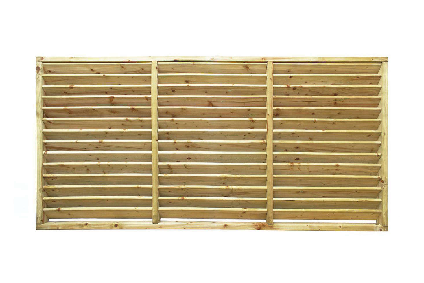 The Louvre Panel comes in a range of finished and colors for £83 to £151 at The Garden Trellis Co.